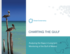 Ocean Conservancy Gulf of Mexico Gap Analysis