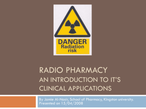 radio pharmacy an introduction to it`s clinical - al