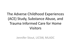 Adverse Childhood Experiences (ACE) Study and Inter