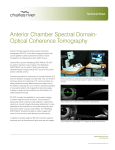 Anterior Chamber Spectral Domain-Optical Coherence Tomography