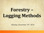 Notes: Logging Methods (11/14) - Liberty Union High School District