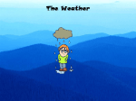 Weather Powerpoint File