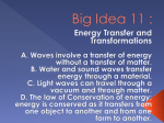 Energy Transfer and Transformations (6th Grade)