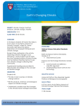Earth`s Changing Climate - The Center for Health and the Global