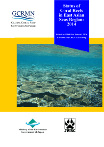 Status of Coral Reefs in East Asian Seas Region