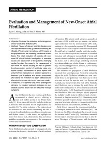 Evaluation and Management of New