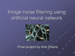 Image noise filterin..