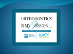 AAOF Speaker Slides - American Association of Orthodontists