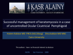 Successful management of keratomycosis in a case of uncontrolled