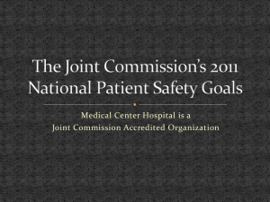 2016The-Joint-Commission - Medical Center Hospital