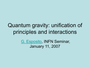 A path towards quantum gravity
