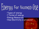 energy Power Point