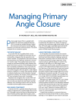 managing primary angle closure