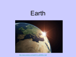 Earth and Seasons Powerpoint