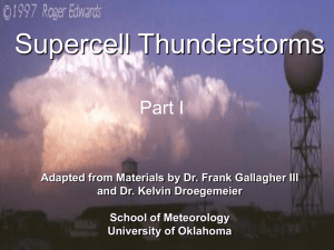 Introduction on Supercells
