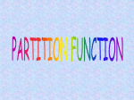 grand canonical partition function