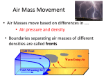 Air Mass Movement