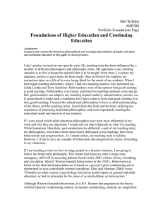 File - Melanie Willden`s Adult and Higher Education