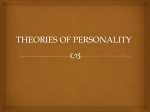 Theories of Personality - UPM EduTrain Interactive Learning