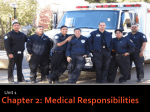 Chapter 2: Medical Responsibilities