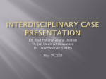 Interdisciplinary Case Presentation