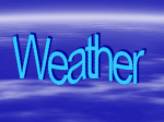 Weather - World of Teaching
