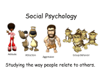 Social Psychology - Bloomfield Central School
