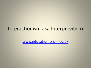 Modernist Theory - the Education Forum