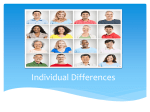 7.Individual Differences