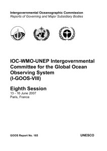 IOC-WMO-UNEP Intergovernmental Committee for the Global