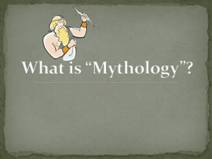 What is *Mythology - Teacher Site Home