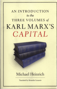 An Introduction to the three volums of Karl Marx`s