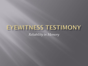 reliability and memory ppt
