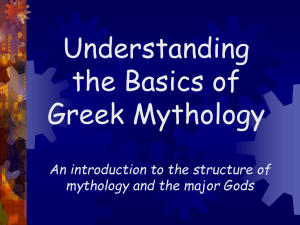 mythology ppt