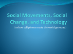 Social Movements, Social Change, and Technology