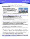 Electricity Generation and Pollution – ElecPollution_EnvDef