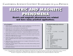 5. electric and magnetic phenomena