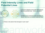 Field Intensity Lines and Field Potential Lines - ND