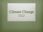 Global Warming - Mr. Kramar`s Social Studies Website