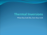 Thermal Inversions