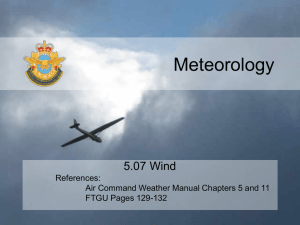 5.07 Wind - 94 Newmarket Air Cadet Squadron