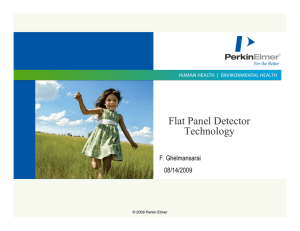 Flat Panel Detector Technology