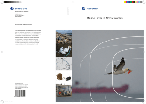 Marine Litter in Nordic waters