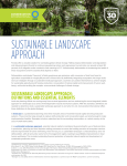 SUSTAINABLE LANDSCAPE APPROACH