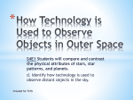 How Technology is Used to Observe Objects in Outer Space