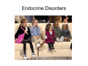 12 Endocrine Disorders - Crestwood Local Schools