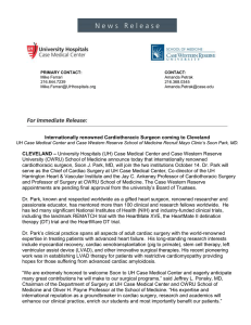 full release - University Hospitals Newsroom