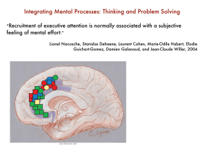 Integrating Mental Processes: Thinking and Problem Solving