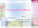 Treatments for Mental Illness