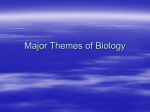 Major Themes of Biology